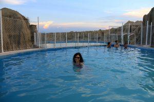 Schwimmbad, Tatacoa Wüste