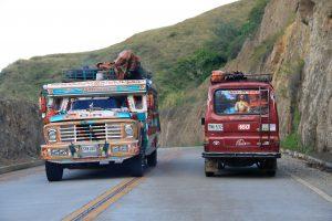 Straße nach Tierradentro