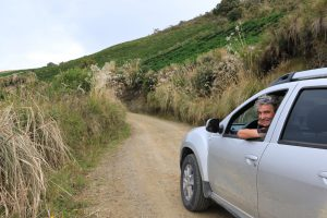 Fahrt auf den Vulkan Azufral