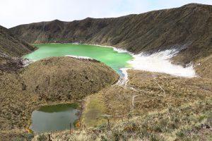 Laguna Verde und Laguna Negra
