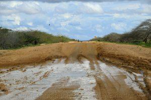 Alta Guajira , Straße nach Punta Gallinas