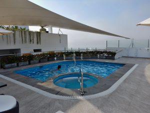 Dachterrasse, Hotel Wyndham , Lima
