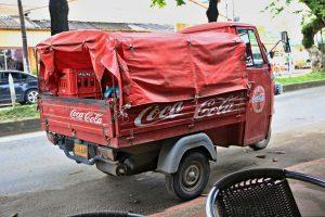 Coca-Coola Transporter, Kolumbien
