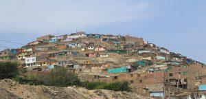 Vorort von Lima