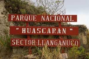 Lagunen Llanganuco, Peru
