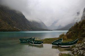 Lagunen Llanganuco