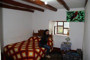 Zimmer im Hospedaje El Torreón, Gemeinde María, nördliche Anden, Peru