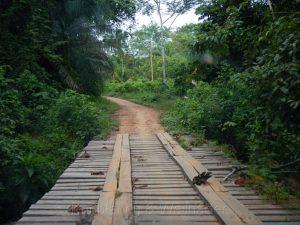 Straße bei Tambopata, Peru