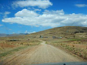 Straße bei Cabanillas, Peru