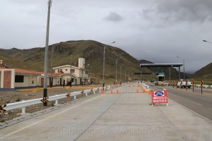 Carretera Interocéana, Peru