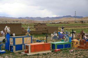 Friedhof, Altiplano, Peru