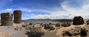 Sillustani, Puno, Titicacasee, Peru