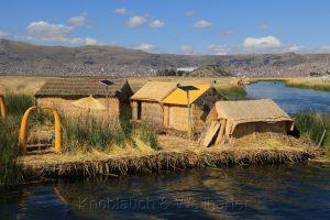 Islas Flotantes de los Urus (Schwimmende Inseln), Lago Titicaca, Peru