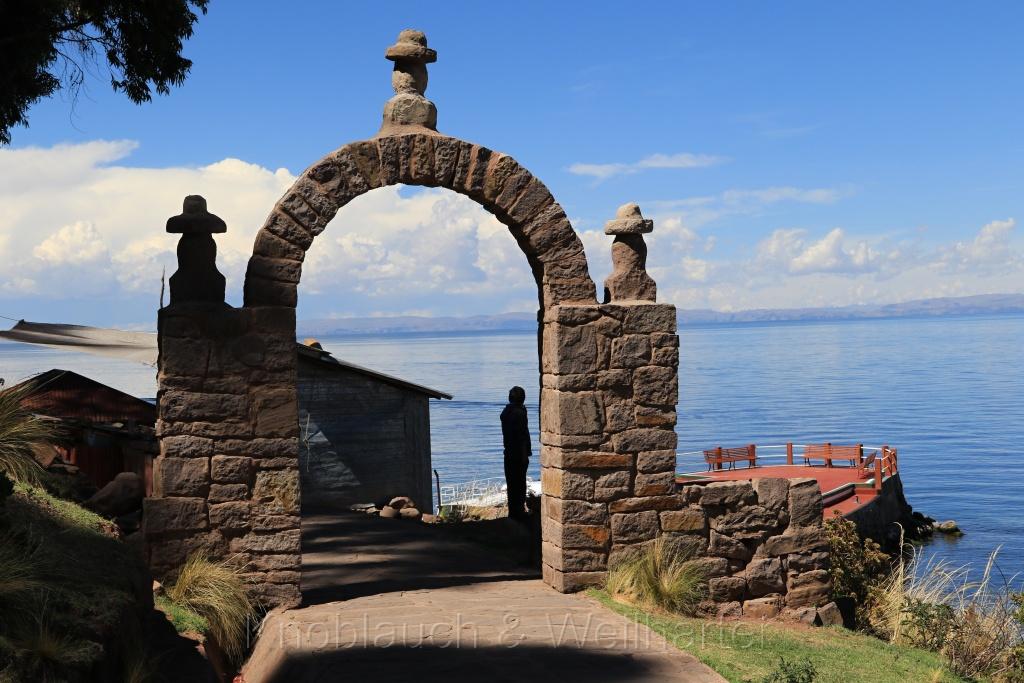 Islas Taquile und Flotantes de los Urus (die schwimmenden Inseln), Titicaca See