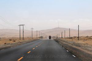 Carretera Panamericana Sur, Peru
