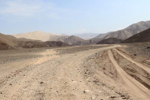 Dünen von Tanaca, Yauca, Wüstenregion, Peru