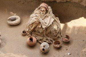 Cementario de Chauchilla (Friedhof von Chauchilla), Nazca, Peru